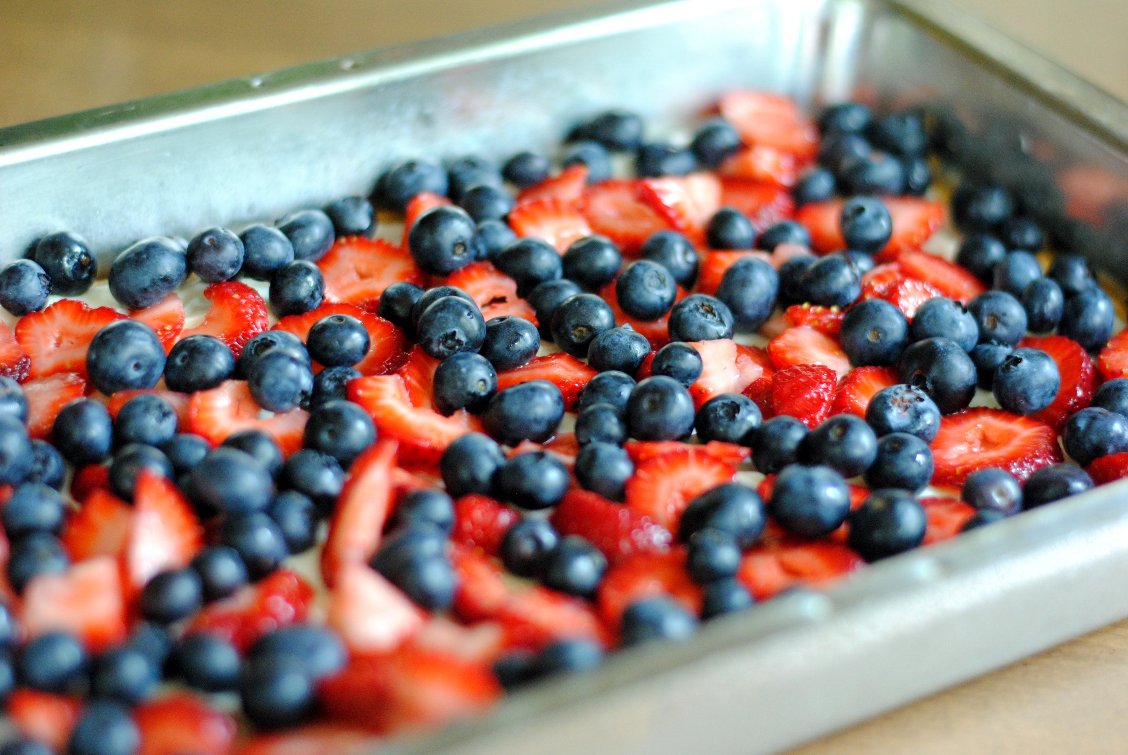 Fresh Fruit Bars Cooking Amid Chaos
