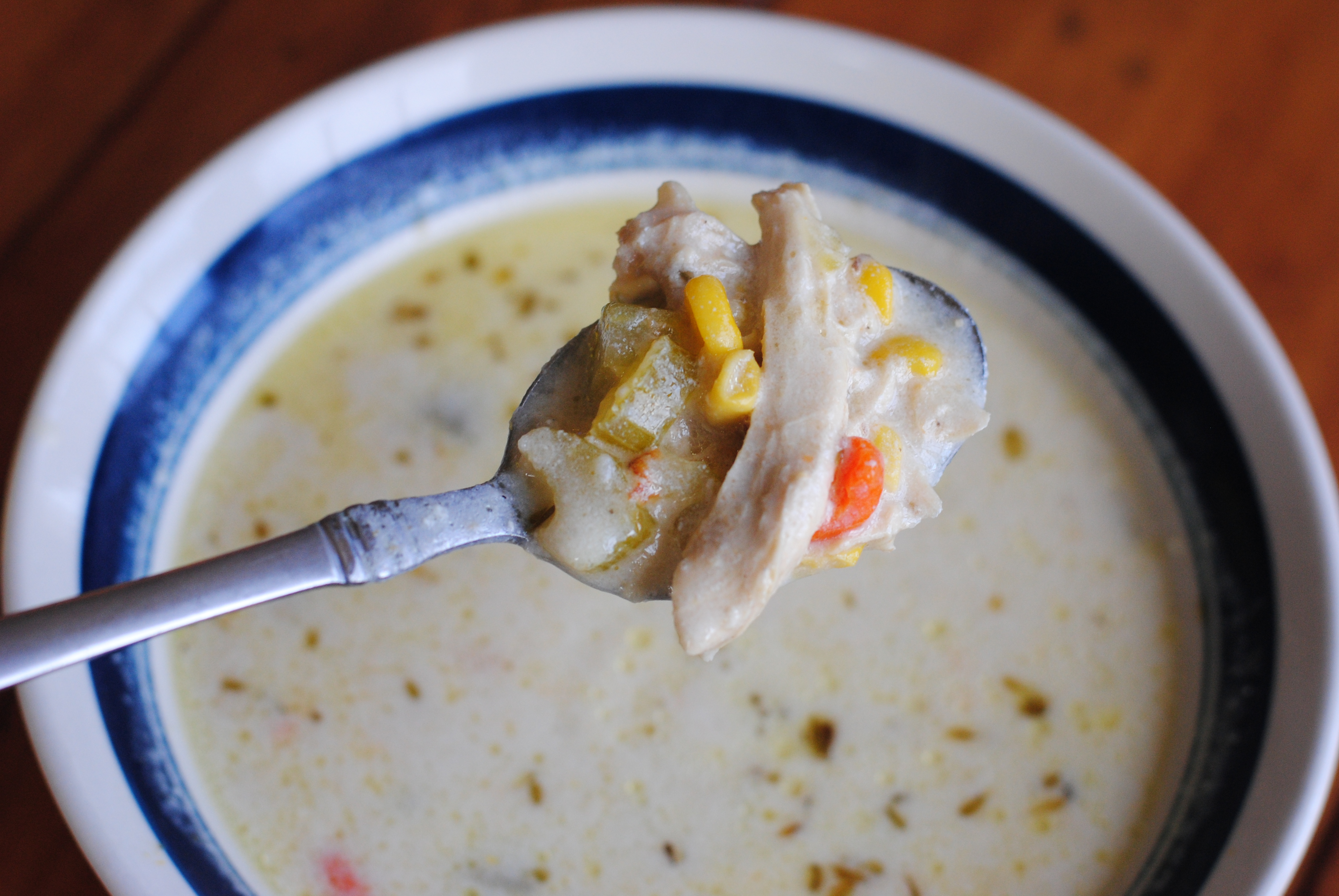 Soup Week Creamy Chicken And Potato Soup Cooking Amid Chaos